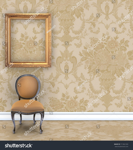 stock-photo-room-with-tan-damask-wallpaper-a-velvet-chair-and-an-empty-gold-picture-frame-with-room-for-text-711961333.jpg