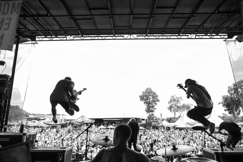 The Word Alive in Cincinnati, OH on Vans Warped Tour 2016