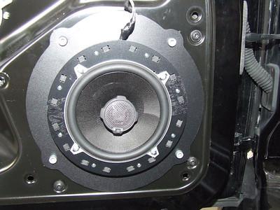 Porsche Speaker Installations