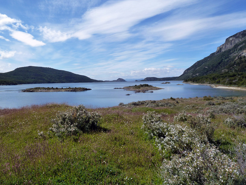 The view from the end of the walkway from the end of the road from the end of the world: Lapataia Bay in Tierra Del Fuego National Park 2011-01-14 12:23:07 by Nathan Hoover