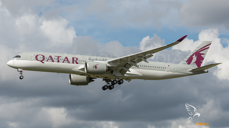 Qatar Airways / Airbus A350-9410 / F-WZGB (to be A7-ALK)