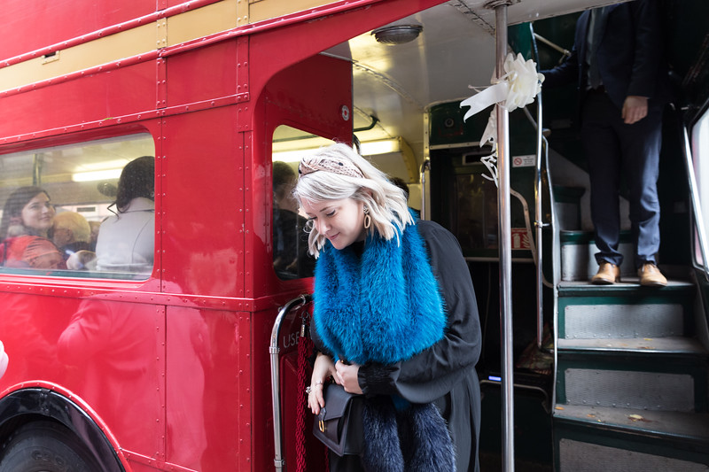 Sammi & Max | London Bus