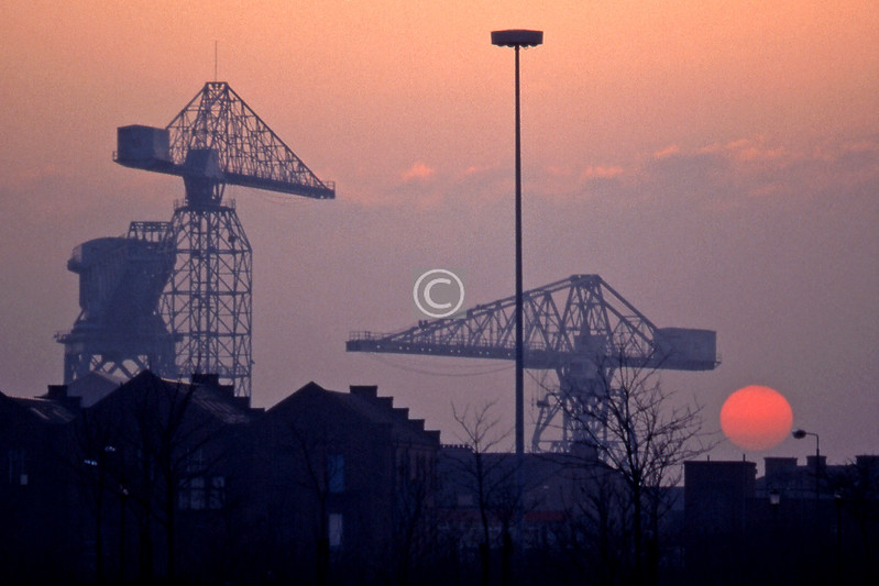 Govan sunset   