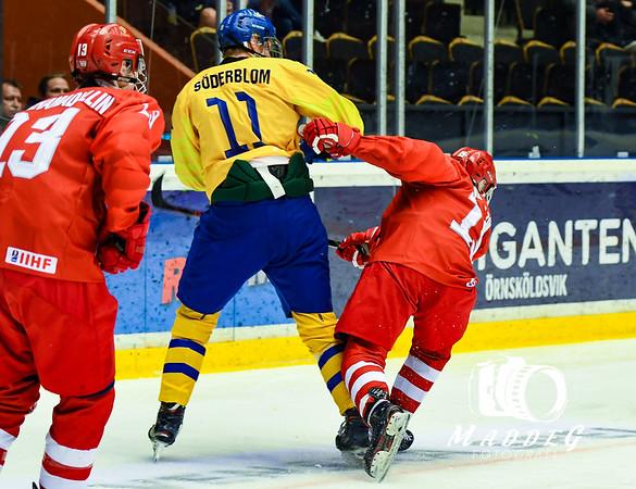 U18VM Grupp B Örnsköldsvik: Ryssland - Sverige 2019-04-23