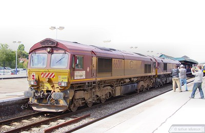 Euro Class 66's in the UK