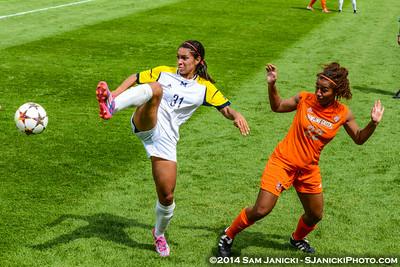 Best of UM Women's Soccer Vs BGSU 8-23-14