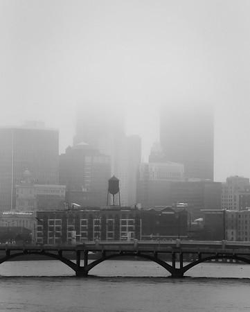 Fog in Des Moines