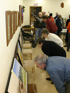 Not only have Horsted's books been in high demand -- but his large framed photographs have become extremely popular.  He offered significant discounts for attendees to the January meeting of the Spearfish Area Historical Society.