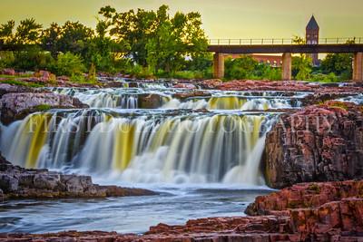 Falls Park, Sioux Falls, South Dakota Sept 2015