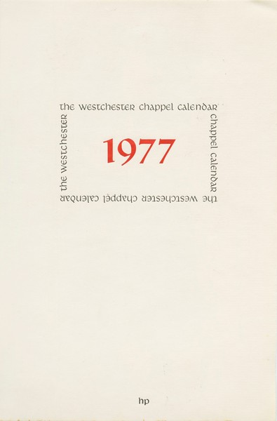 Cover, 1977, Herity Press