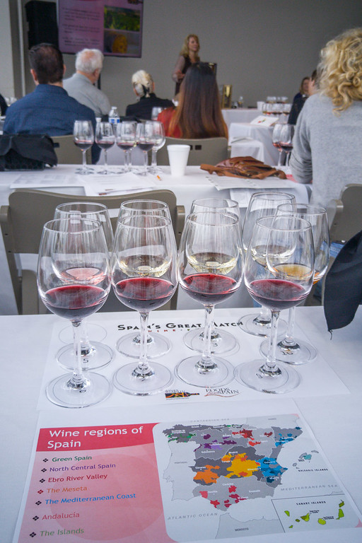 Tasting Wines from Spain at Spain's Great Match SF