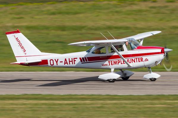 OY-AHF - Reims Cessna F172H Skyhawk