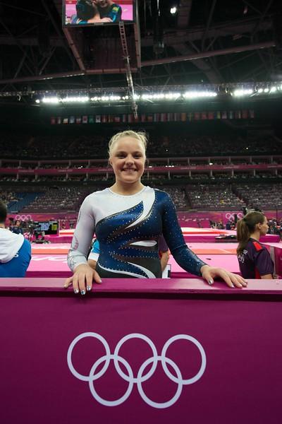 Annika Urvikko at London olympics 2012__29.07.2012_London Olympics_Photographer: Christian Valtanen_London_Olympics_Annika Urvikko at London olympics 2012_29.07.2012_DSC_3756_Annika Urvikko, gymnastics