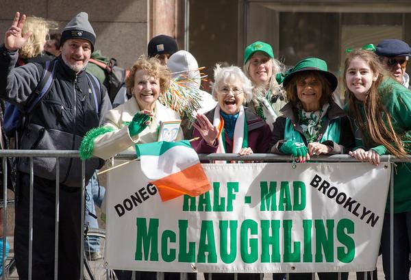 2015 St. Patrick's Day Parade, NY, NY