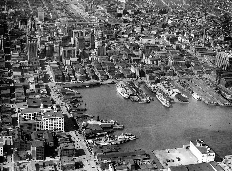 BS Baltimore Harbor View - 1948