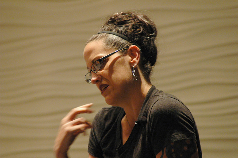 The Rev. Nadia Bolz-Weber during plenary session one