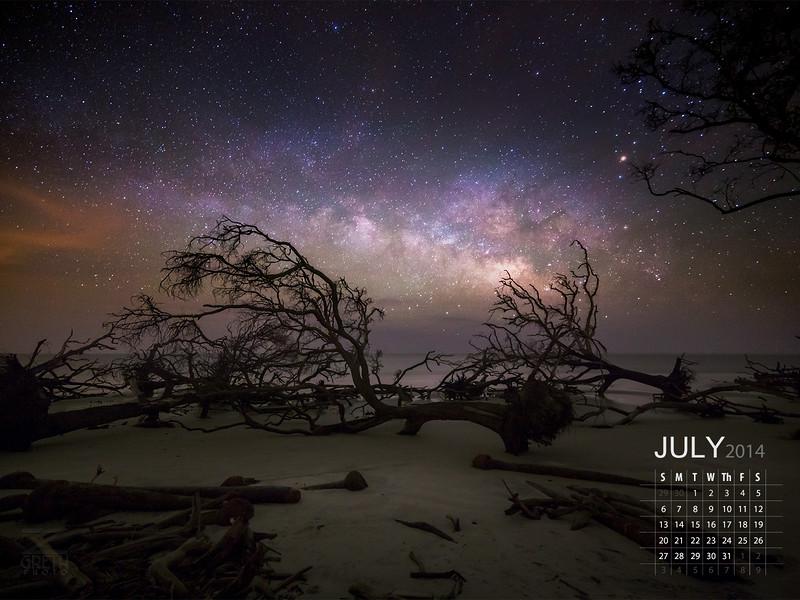 July - Hunting Island