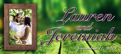 A Wedding For Lauren & Jeremiah