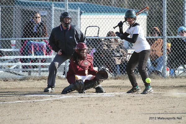 Colony Vs. Dimond JV Softball 5-2-2012