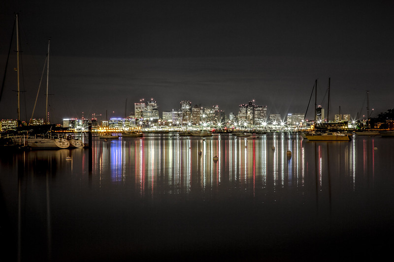 Reflections on Boston Harbor