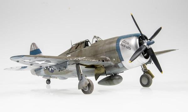 "1/32 Trumpeter P-47D-20 Thunderbolt ""Little Rock-ette"""