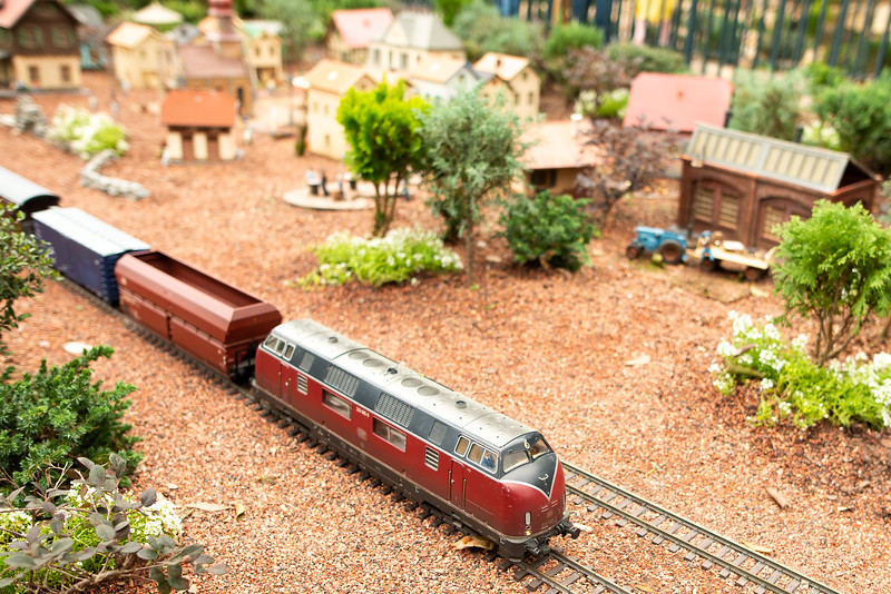 Model Train Scenery - Epcot Walt Disney World