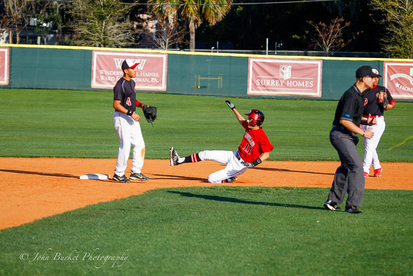 LHPS JV Baseball vs Colonial 2-25-2014