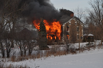 House Fire - Birsey Rd, Seneca Falls, NY - Unknown Date