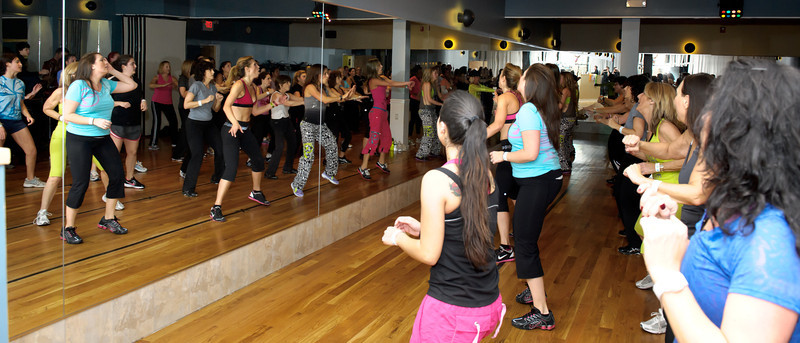 2012-01-13 Carolyns Dancenter ZUMBA