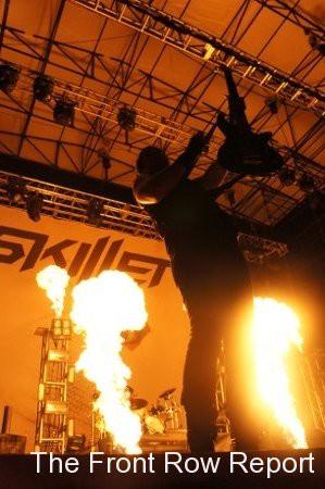 Skillet @ Ignite Fest 2011