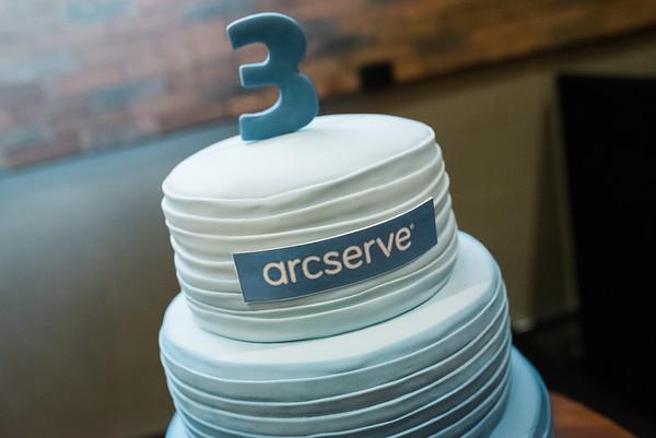 Arcserve - Festa 3 anos
