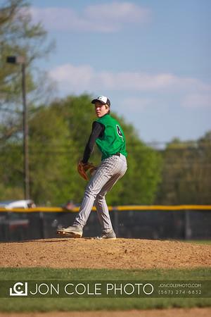 20120424 - Boys Varsity Baseball vs Mansfield Sr