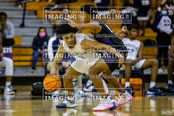 2-6-2021 Ridge View vs Blythewood Varsity Mens Basketball