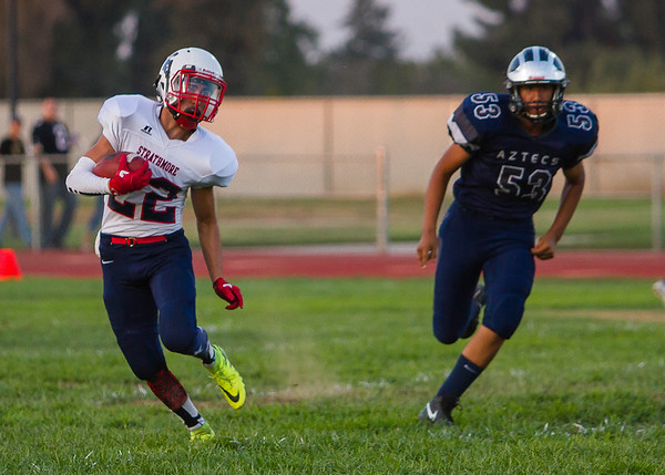 Strathmore at Farmersville HS Football 8-25-2017