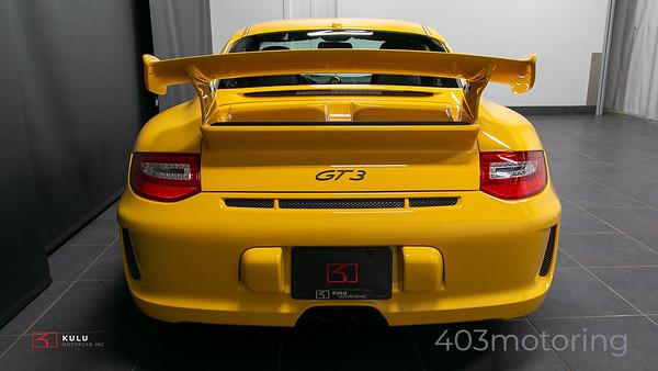 '10 911 GT3 - Speed Yellow