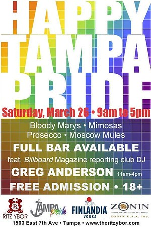 Happy Tampa Pride 2016