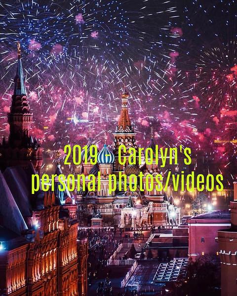 2019 - Carolyn's photos/Videos