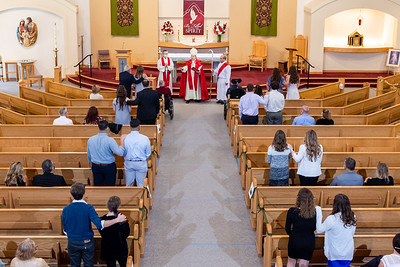 St Francis Church Confirmation Sept. 19, 2020