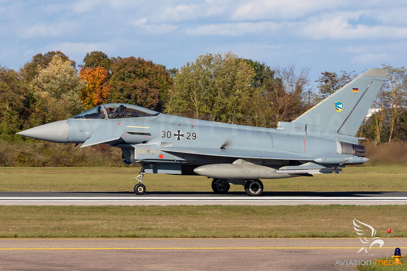 Germany Air Force / Eurofighter Typhoon / 30+29