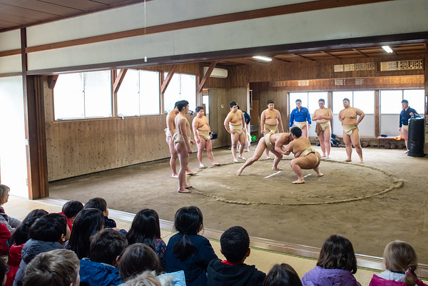 Grade 2  Sumo Wrestling Field Trip