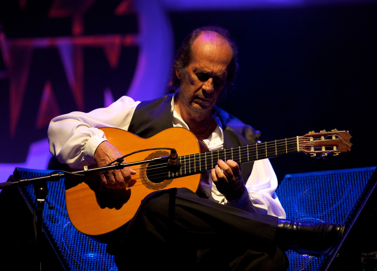 Paco de Lucia at Jazz à Juan 2010 3<br /> Paco de Lucia in concert at Jazz à Juan 2010