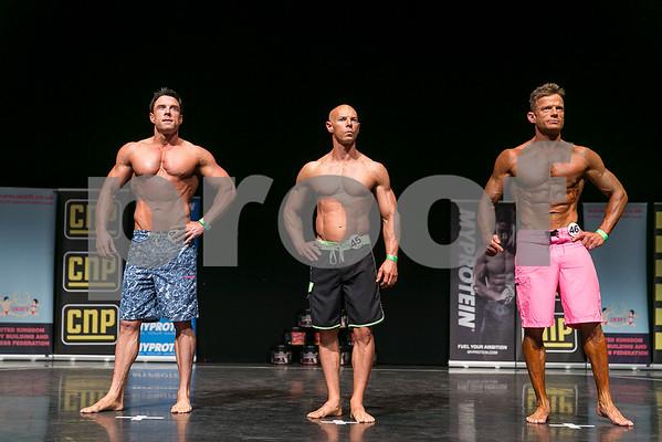 Masters men's physique