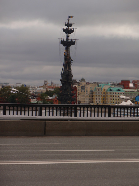 So if there's one thing that was clear quickly, Russian leaders have BIG egos to satisfy.  The bigger the monument to their greatness, the better.  Check out this eye-sore to Peter the Great.  I couldn't really get enough of it...as you'll soon see.
