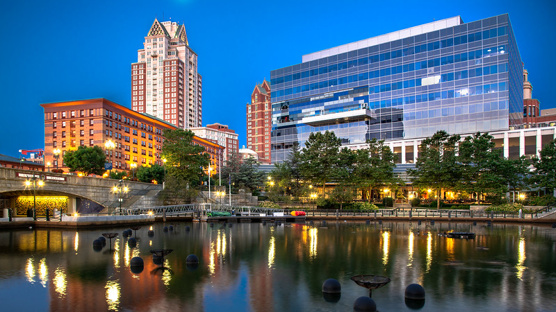 Waterplace Park in Providence, Rhode Island