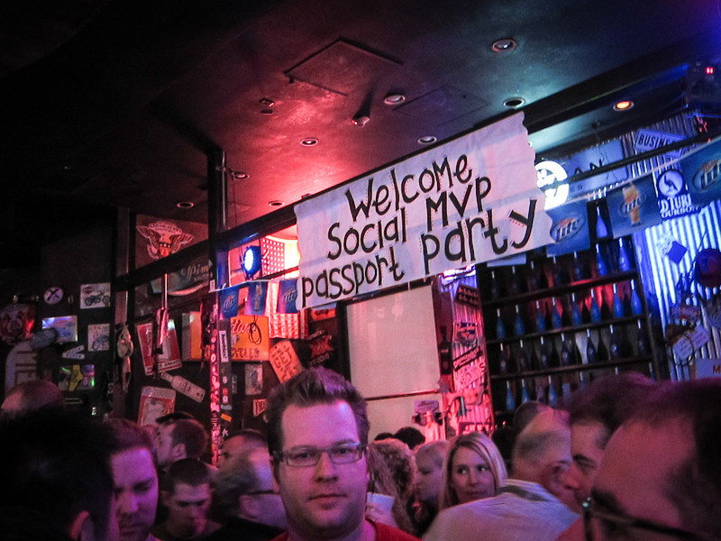 Social MVP Passport Party at Coyote Ugly