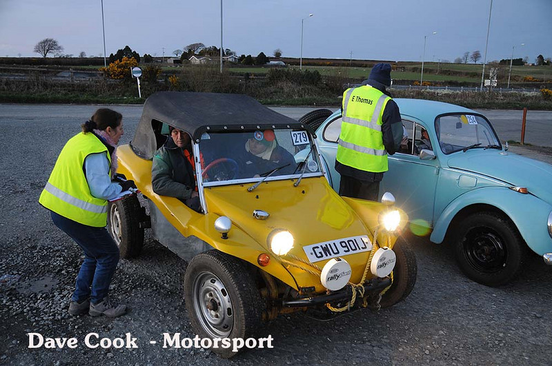 Some more volunteers, in this case scrutineers from the MG Car Club.