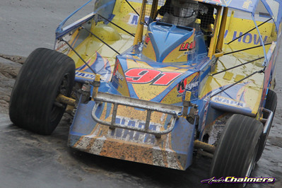 Super DIRT Week XLII 10/13 Syracuse 200 - Amber Chalmers