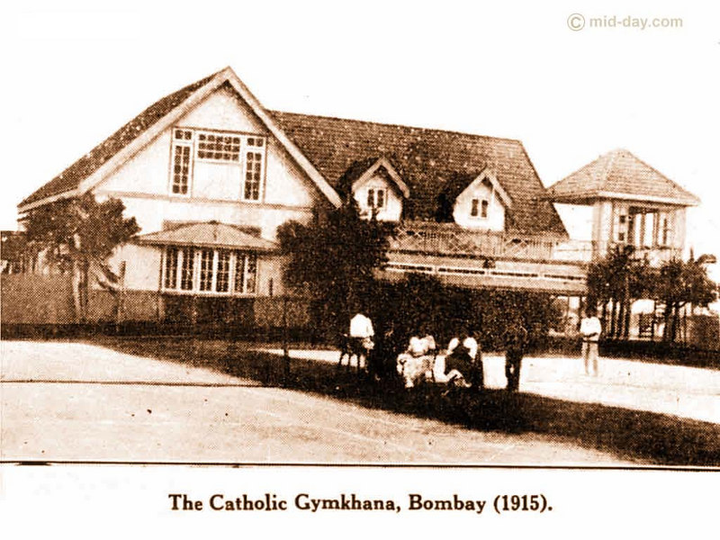 The Catholic Gymkhana  The elegance of Mumbai's club history is exemplified in this late 19th century picture of The Catholic Gymkhana at Marine Lines. The Catholic Gymkhana was considered one of the most elite clubs in Bombay.