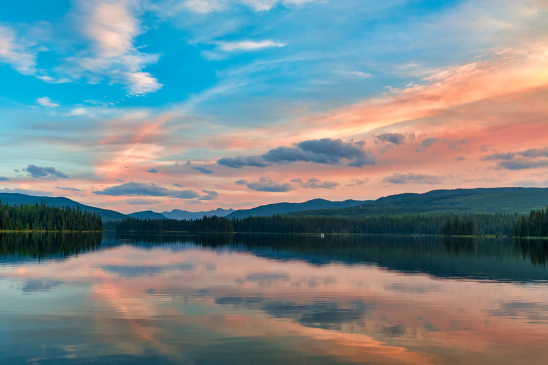 Sunset at Jarvis Lake