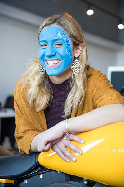 Spectrum Works Face Painting Event